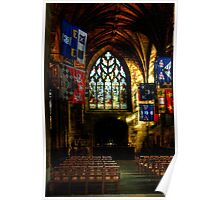 Inside St. Giles Cathedral, Edinburgh Poster