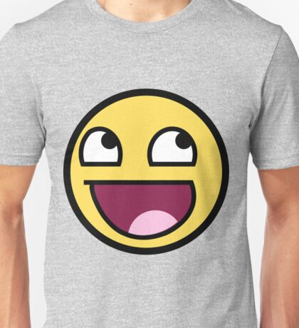 Awesome Face Epic Smiley Unisex T-Shirt