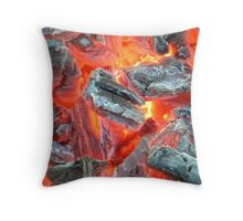 Embers and Ashes 3 Throw Pillow