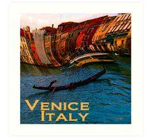 Wacky Venice, Italy Print Art Print