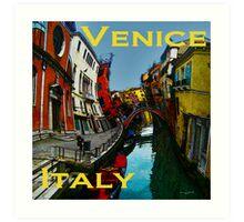 Wacky Venice, Italy II Art Print
