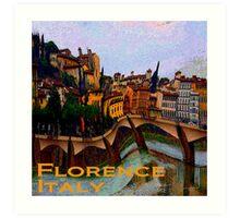 Wacky Florence, Italy Art Print