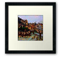 Wacky Florence, Italy Framed Print