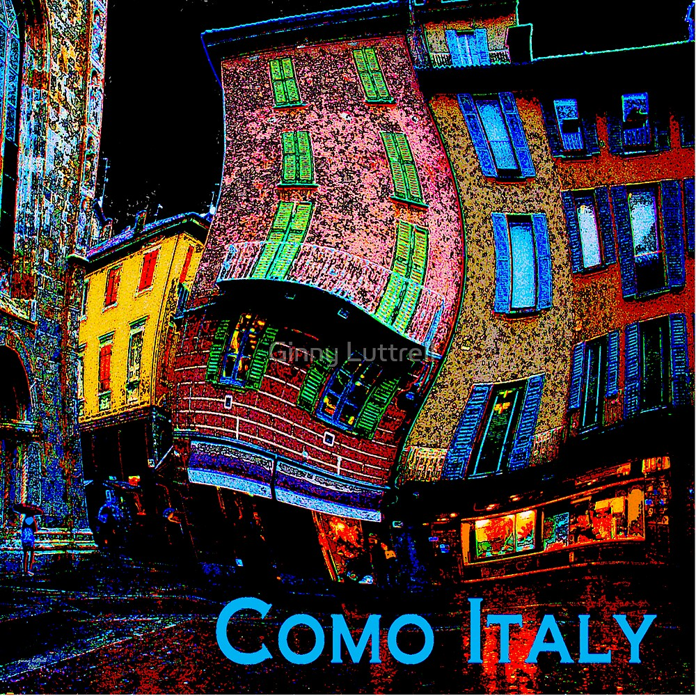 Wacky Como, Italy by Ginny Luttrell