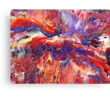 Abstract Fluid Painting 38 Canvas Print