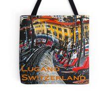 Wacky Lugano, Switzerland Tote Bag