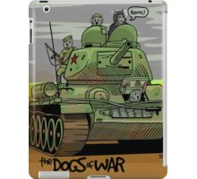 The Dogs of War: T34 iPad Case/Skin