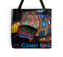 Wacky Como, italy Tote Bag