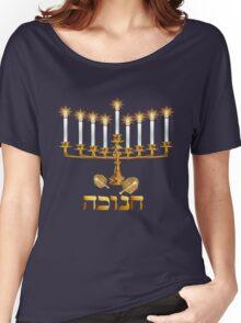 Golden Hanukkah Women's Relaxed Fit T-Shirt