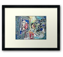 Lonely People (The New Clear) Framed Print