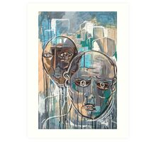 Lungfish (Blessed City Idiots) Art Print