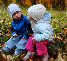 I love you. The innocence of childhood!  by Brown Sugar .Favorites: 2 Views: 143 . thx! by © Andrzej Goszcz,M.D. Ph.D