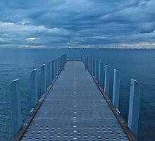 Blue Melbourne by brilightning