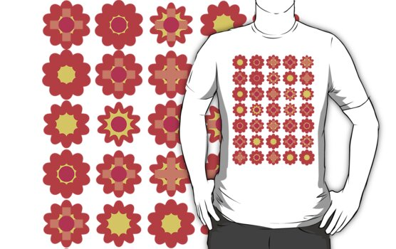 Flower T-shirt by senega