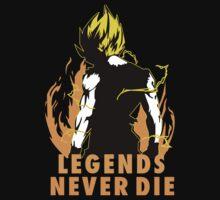 Dragon Ball - Son Goku - Legends Never Die by derGrelck