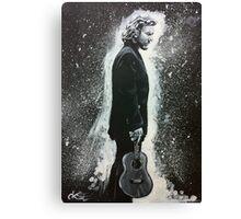 Eddie Vedder and His Ukulele Canvas Print