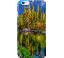 Reflections on the Merced river, Yosemite National Park iPhone Case/Skin