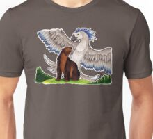 The willow-wren and the bear Unisex T-Shirt
