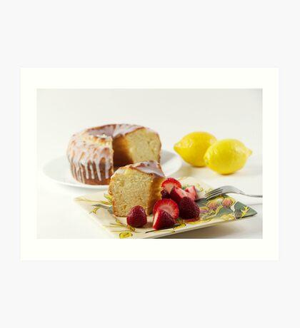 Danish Butter Cake Art Print