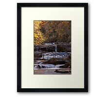Coker Creek Falls  Framed Print