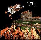 Ella's Elevation (Edinburgh Castle) by Anita Inverarity
