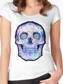 Spaceskull Women's Fitted Scoop T-Shirt