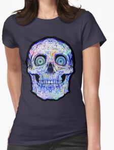Spaceskull Womens Fitted T-Shirt