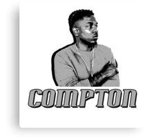 Compton Kendrick Lamar Canvas Print