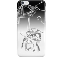 Master Chief DotLine iPhone Case/Skin