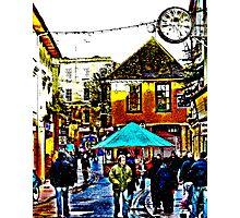 Christmas Market and Fair. Photographic Print