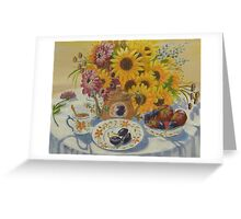 Tea for Amy Greeting Card
