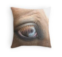 UPCOUNTRY BLUE EYES Throw Pillow