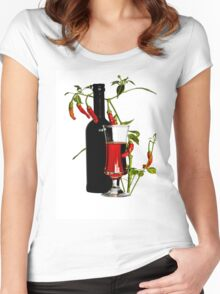 Very chilli drink  Women's Fitted Scoop T-Shirt
