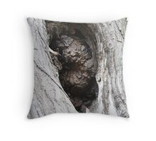 TREE HOLE Throw Pillow