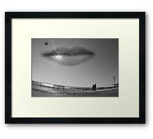 Sky smile Framed Print