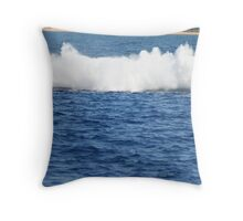 Humpback Breaching - 3 of 3 Throw Pillow