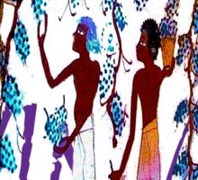 Egyptian Vineyard Sticker