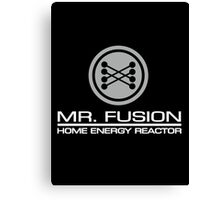 Mr Fusion Home Energy Reactor Canvas Print