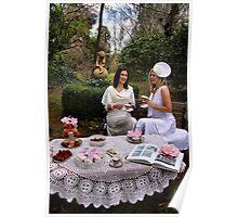 High tea at Birchbank Poster