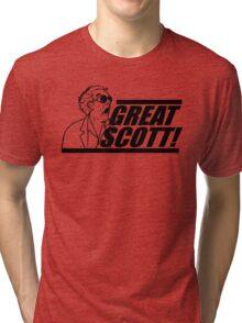 Doc E. Brown Great Scott Tri-blend T-Shirt