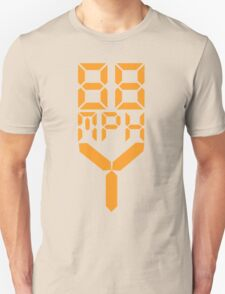 88 MPH The Speed of Time travel Unisex T-Shirt
