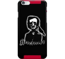 Edgar Allan Poe - Nevermore iPhone Case iPhone Case/Skin