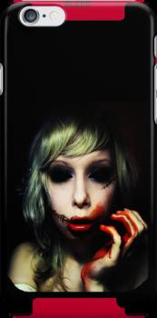 Sanguine iPhone Case by Chloe van Leeuwen