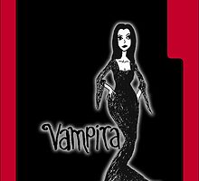 Vampira iPhone Case by Chloe van Leeuwen