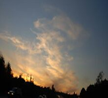 Freeway Sunset... by Photos55