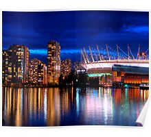 Vancouver Skyline Poster