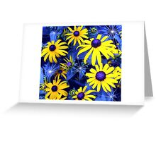 That's Right... Blue Eyed Susans! Greeting Card