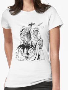 Day of the Dead Coupl Womens Fitted T-Shirt