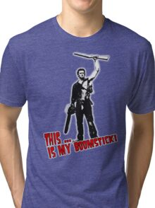 Ash - Evil Dead/Army of Darkness - Boomstick (Updated) Tri-blend T-Shirt