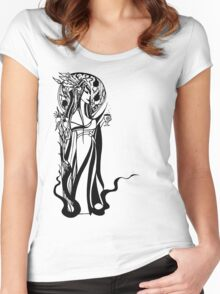 Absinthe Woman Women's Fitted Scoop T-Shirt